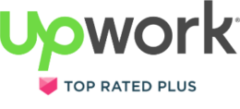Upwork Top Rated Plus
